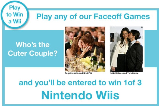 Play Any of Our Fabulous Faceoff Games and Win a Wii!